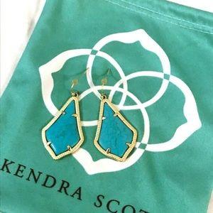 Kendra Scott gold drop earrings🥰